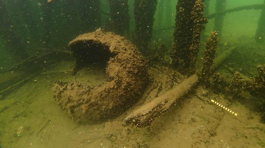 En mina på havets botten.