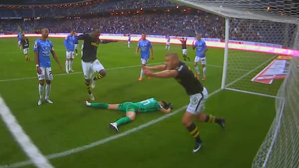 Eriksson raddade bajen fran fiasko