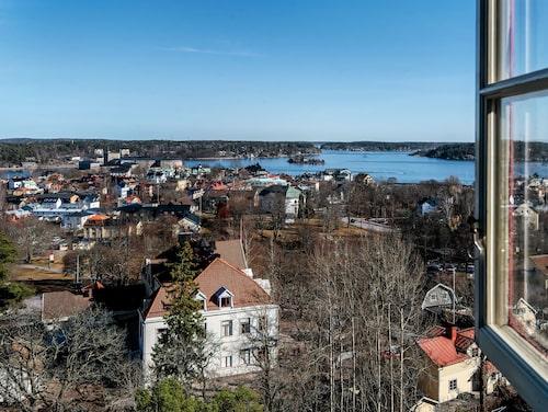 Utsikten från bastun.