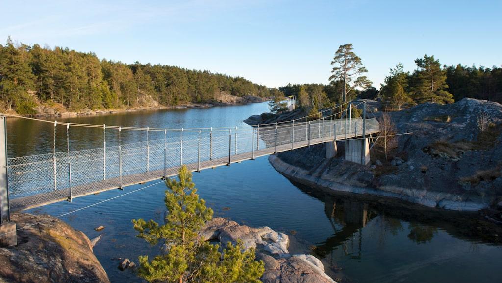 Vackra Stendörrens naturreservat i Nyköpings kommun.