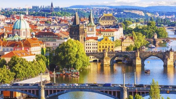 Prag är en skönhet som många uppskattar.